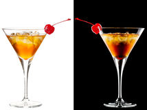 Cold alcoholic cocktail Royalty Free Stock Photo