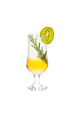 Cold alcoholic cocktail. Royalty Free Stock Photo