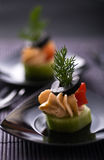 Cold appetizer Stock Images