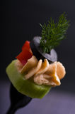 Cold appetizer royalty free stock photos