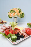 Cold appetizers Royalty Free Stock Image