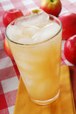 Cold apple juice Stock Photos