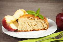 Cold Apple Pie. Stock Images
