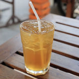 Cold apple tea Stock Photography
