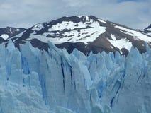 Cold as ice. A glacier in Argentina (Perito Moreno Stock Images