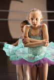Cold Ballet Student Royalty Free Stock Image