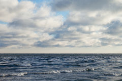 Cold Baltic saea. Royalty Free Stock Images