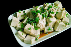 Cold bean curd Royalty Free Stock Images