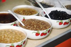 Cold bean soup Stock Images