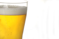 Cold beer. A glass of beer in closeup Stock Photo
