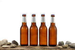 Cold Beer Bottles Stock Photos