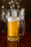 Cold beer in a mug Stock Photos