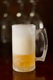 Cold beer in a mug Stock Photo