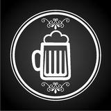 Cold beer design Royalty Free Stock Photo