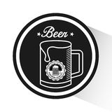 Cold beer design Stock Photo