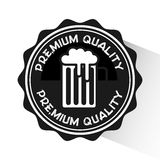 Cold beer design Royalty Free Stock Photography