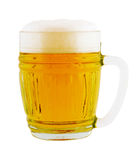 Cold beer glass Royalty Free Stock Photo