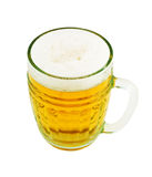 Cold beer glass Stock Image