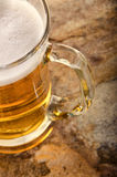 Cold beer in glass. Fresh beer concept. Royalty Free Stock Images
