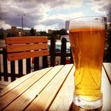 Cold beer. Royalty Free Stock Photo