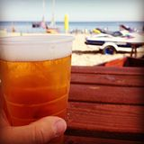 Cold beer. Stock Photography