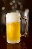 Cold beer in a mug Royalty Free Stock Photos