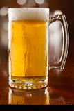 Cold beer in a mug Stock Photography