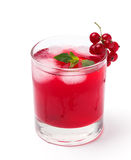 Cold berry drink Stock Images