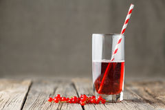 Cold berry mors drink close up, selective focus Stock Photo