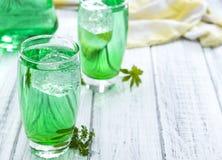 Free Cold Beverage With Woodruff Taste Stock Photo - 58052930