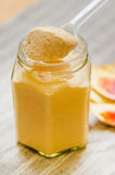 Cold blood orange curd Royalty Free Stock Photos