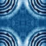 Cold blue border frame Royalty Free Stock Image