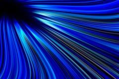 Cold blue light trails background royalty free illustration