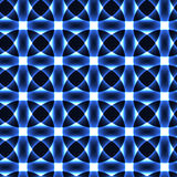Cold blue transparent circles -semaless background Stock Photo