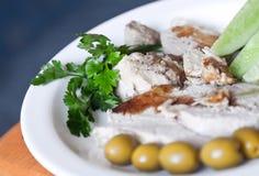Сold boiled pork Stock Photos