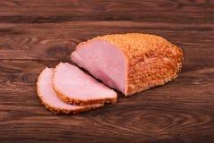 Cold boiled pork Stock Photos