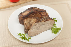 Cold boiled pork Stock Photography