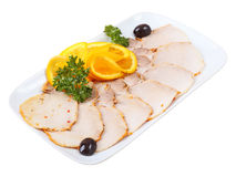 Cold boiled pork Royalty Free Stock Image