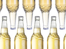 Cold bottle of beer Royalty Free Stock Photography
