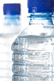 Cold bottled water Stock Image