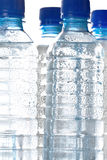 Cold bottled water Royalty Free Stock Image