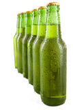 Cold bottles with fresh drink Stock Photography