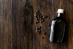 Cold brew coffee in a bottle. Stock Images