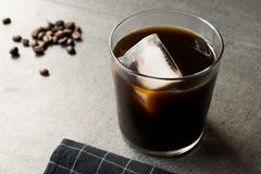 Cold Brew Coffee with Ice stock photos