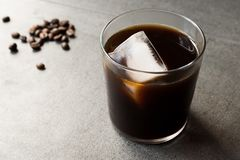 Cold Brew Coffee with Ice royalty free stock photo