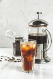 Cold brew iced coffee Stock Photography