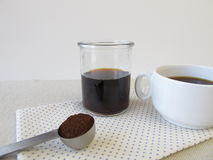 Cold-brewed coffee Stock Photo