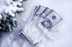 Cold Cash Royalty Free Stock Photos