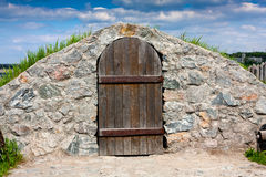 Cold cellar Stock Photography