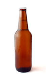 Cold chilled beer in brown bottle Stock Image